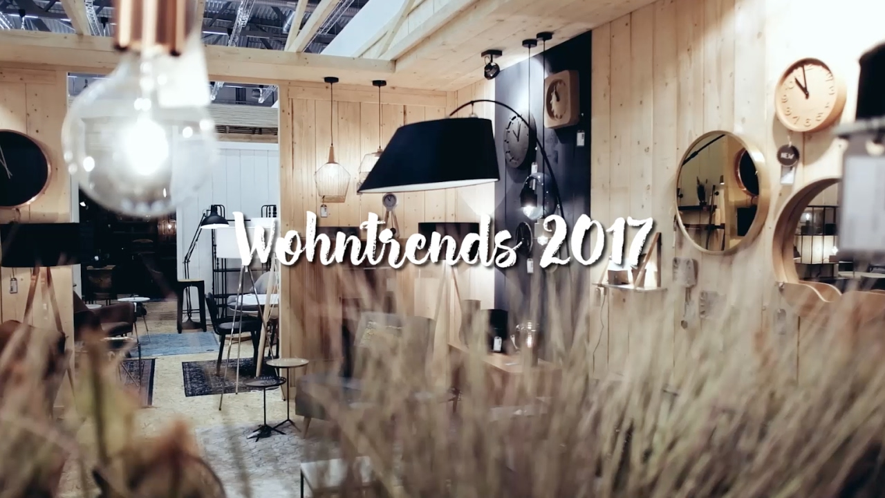 wohntrends 2017 auf der imm m belmesse in k ln wohnklamotte youtube. Black Bedroom Furniture Sets. Home Design Ideas