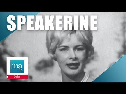 Speakerine 1960 Jacqueline Huet | Archive INA