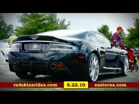 Albert Haynesworth Smiles at the Redskins Rides 2010 Car Show by Easterns.com