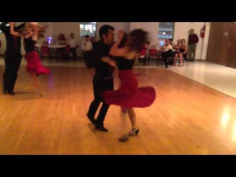 Salsa Dance Video Byron Catan And Ellie Mann