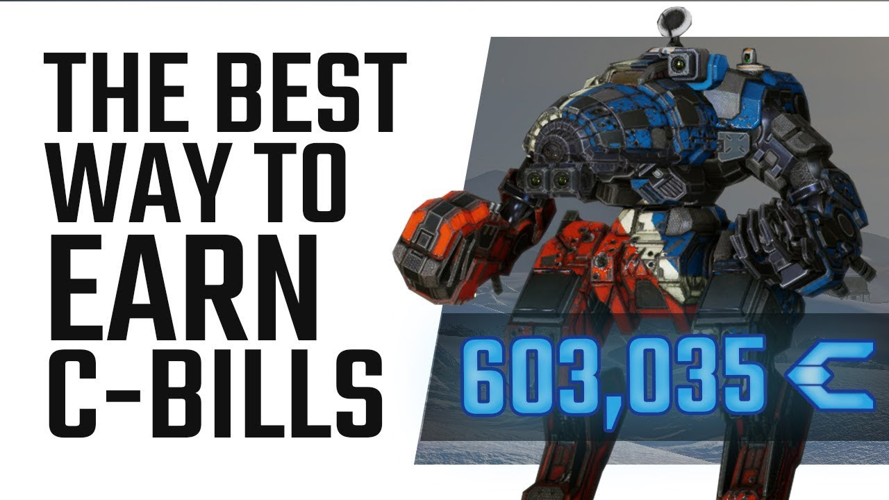 The best way to earn C-Bills in MWO - Mechwarrior Online The Daily Dose #309