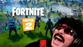 DrDisrespect's Response to Fortnite Chapter 2 and Proof he predicted it
