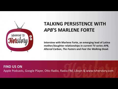 Talking Persistence with APB's Marlene Forte