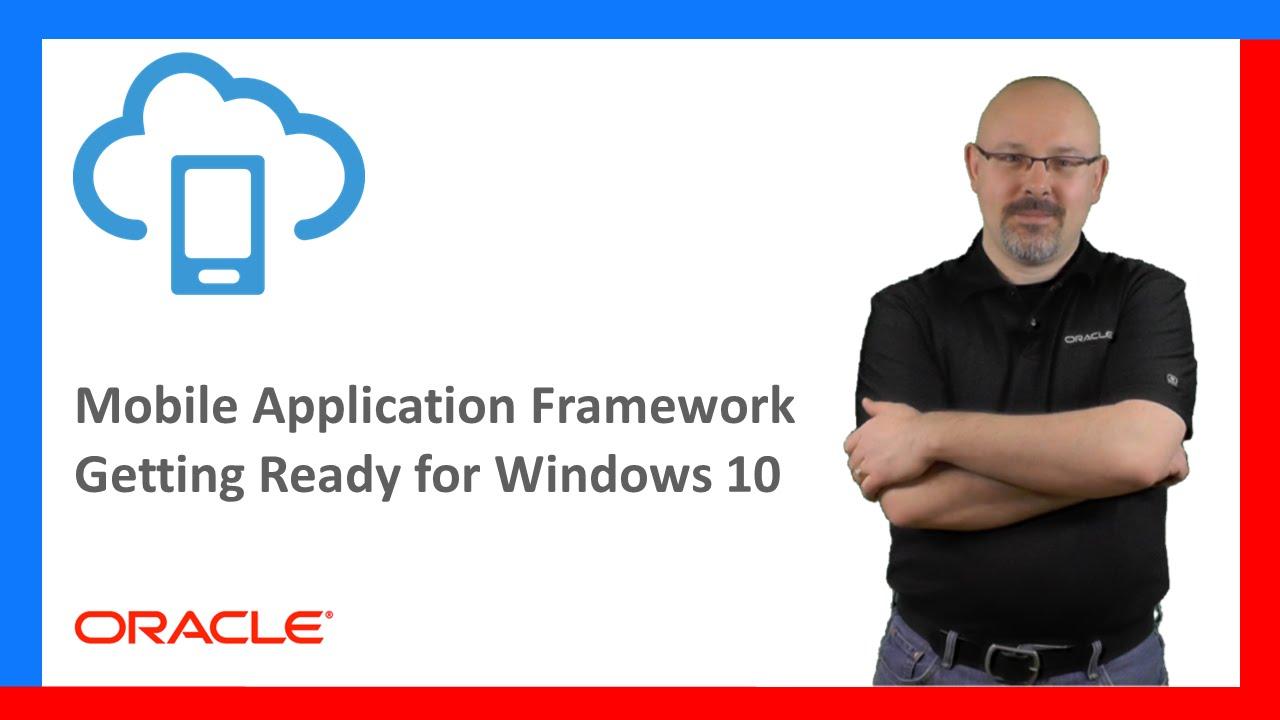 MAF: 04  (Windows) Getting Ready for Windows 10