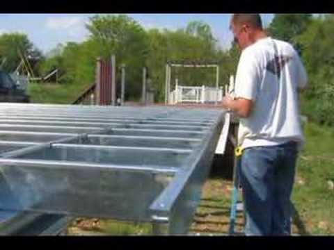 Deck On Steel Youtube