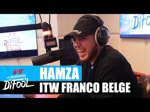 Youtube: Hamza – Interview Franco Belge #MorningDeDifool