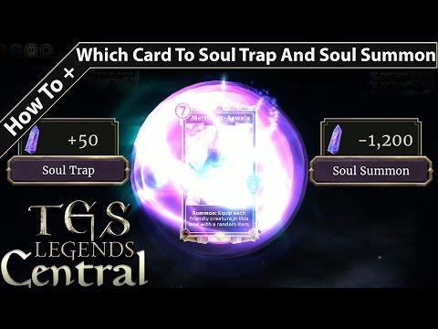 Let's Talk Soul Gems & Souls Trap How To Get Rare Cards The Elder Scrolls Legends