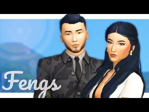 VICTOR & LILY FENG   Sims 4 Townie Makeover