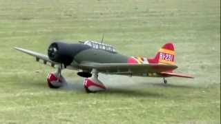 AICHI TYPE99 D3A Val 愛知99式艦上爆撃機11型 大阿蘇航空ショーにて