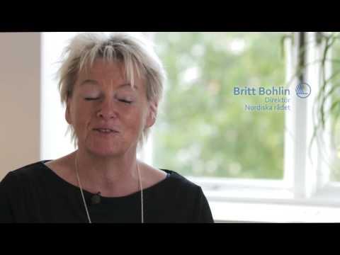 Ny visuel identitet for det nordiske samarbejde interview med Britt Bohlin