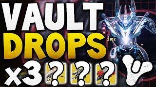 Destiny - VAULT HARD DROPS x3 (Week 13)