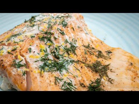 Baked Salmon Lemon & Dill