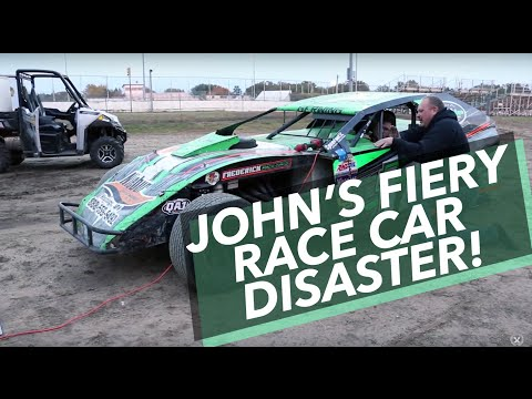 John Green's Fiery Race Car Disaster