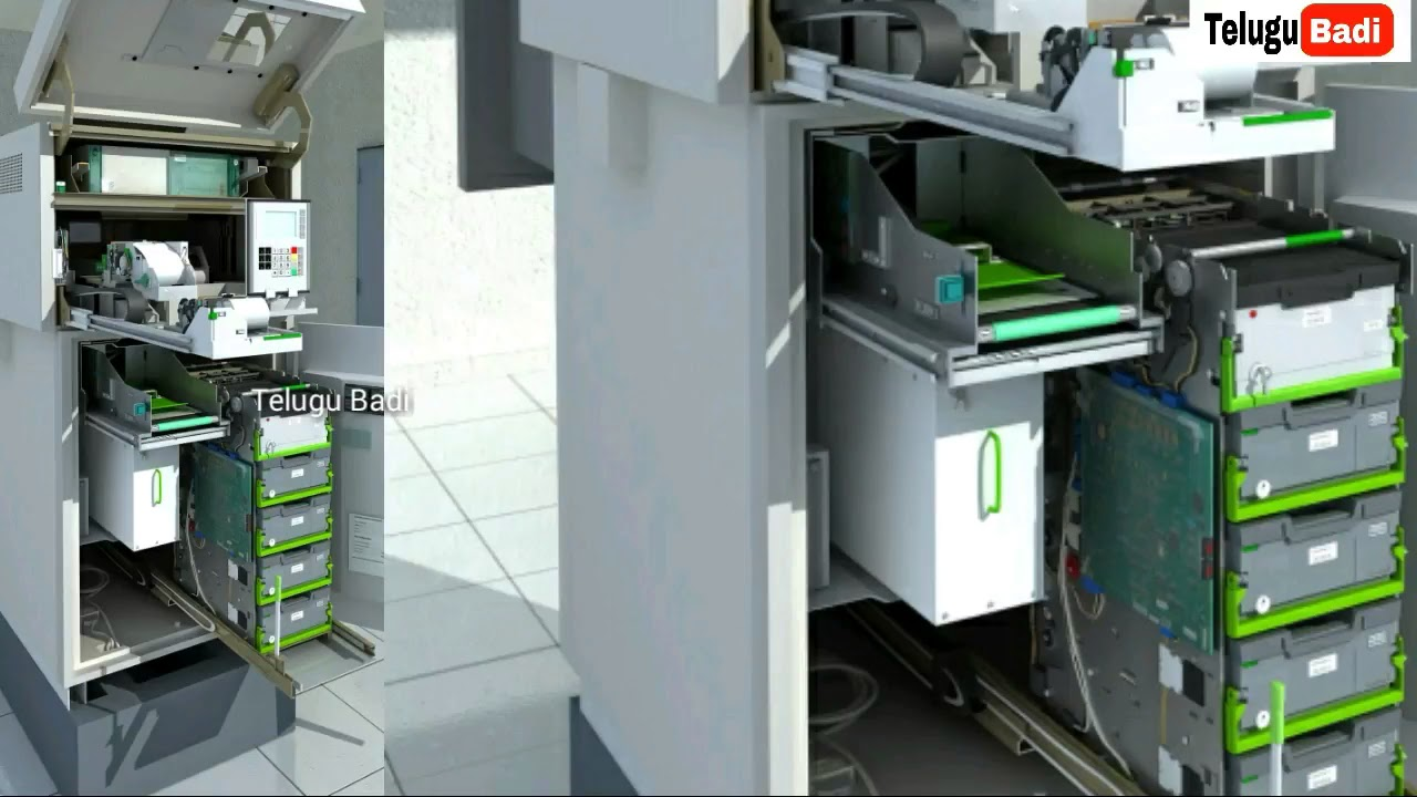 How Atm Machine Works Youtube