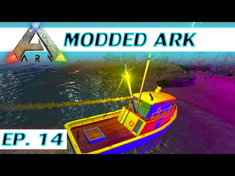 ★ Find oil in the Center - Modded ARK: Survival Evolved let's play - Ep 14 - single player S4