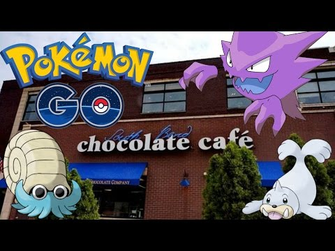 Pokemon GO - BACK TO THE CHOCOLATE CAFE (#PokemonGO)
