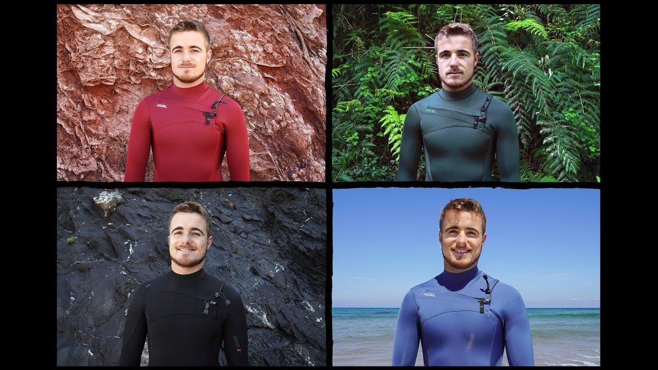 The Xcel Comp Wetsuit Available In Four Colours - Natxo Gonzalez