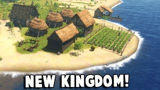 A NEW KINGDOM!  Toast!?  Winter is Coming in Life is Feudal Forest Village Part 1