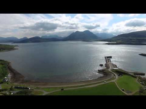 Discover the Isle of Raasay by aerial video