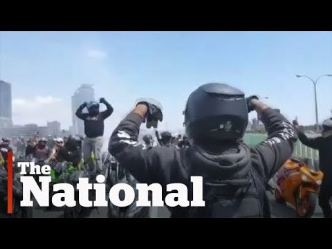 The National for Thursday August 10, 2017 | Brad Wall Resigns, Motorcycle Mob, Child Rapist Paid