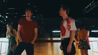 Under the Silver Lake - Party scene Andrew Garfield part 2