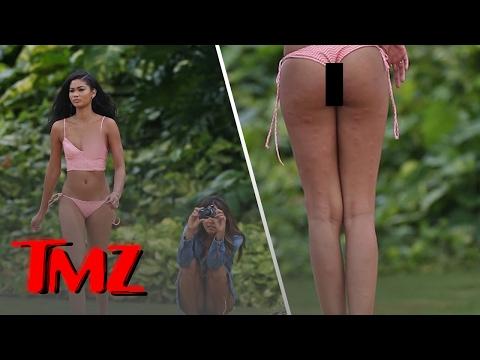 Supermodel Chanel Iman was eaten alive in Hawaii!  TMZ