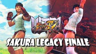 FINALE! - Sakura Legacy:  Ultra Street Fighter 4 (PC)