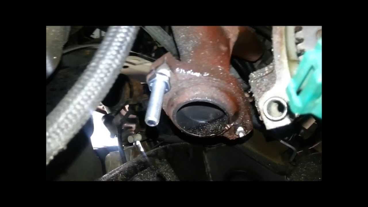 What Kind Of Nut Has A Hole >> Broken Exhaust Stud Fix- JoeTheAutoGuy - YouTube
