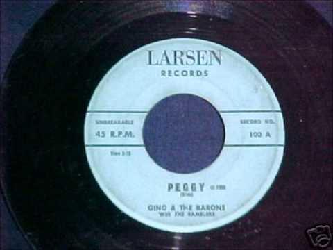 Gino & The Barons - Peggy - Larsen 100 - 1959