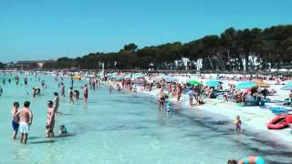 Alcudia beach, Majorca July 2010