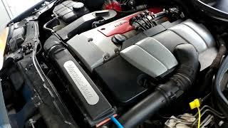 Czyszczenie silnika wodorem(dekarbonizacja) Mercedes kompresor