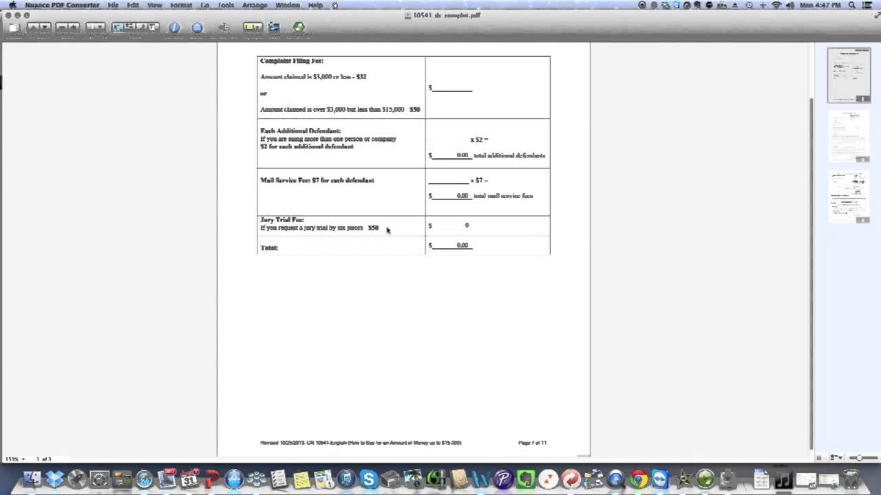 Practical Law: How To Complete A NJ Special Civil Summons U0026 Complaint    YouTube  Civil Summons Form