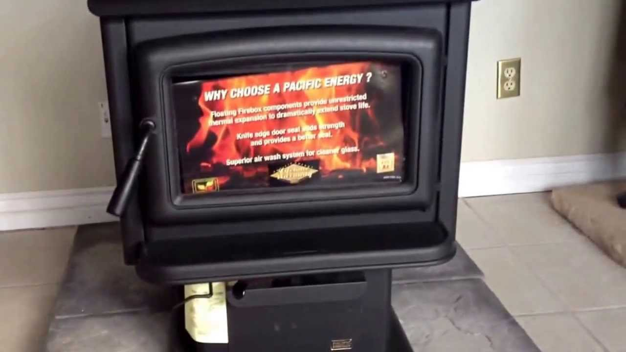 Pacific Energy Super 27 Wood Stove Youtube