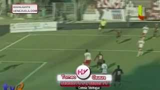 Highlights J12 Torneo Clausura Carabobo FC vs Caracas FC