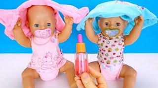 Успокоительное Для Беби Бон Объелись Сладкого! Мультики Как Мама Играет в Куклы 108мама тв