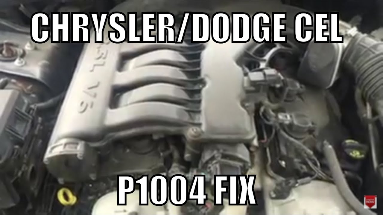 Chrysler Dodge 35 Check Engine Light Code P1004 Youtube Solenoid Diagram 06 Charger On 5 7l Jeep Cherokee Motor