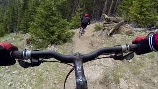 GoPro Hero 3 Downhill Mountain Biking:  Fungus Trail at Sunrise, AZ