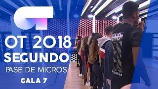 """DON'T STOP ME NOW"" - GRUPAL | SEGUNDO PASE DE MICROS GALA 7 | OT 2018"