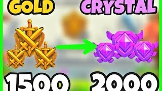 CLASH OF CLANS: PUSH TO 2000 TROPHY CRYSTAL LEAGUE #1 WERE BACK