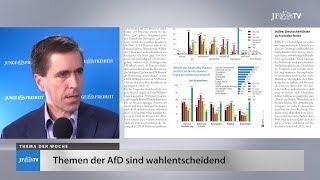 Ein Blick in die neue JF (38/17): AfD-Themen sind wahlentscheidend
