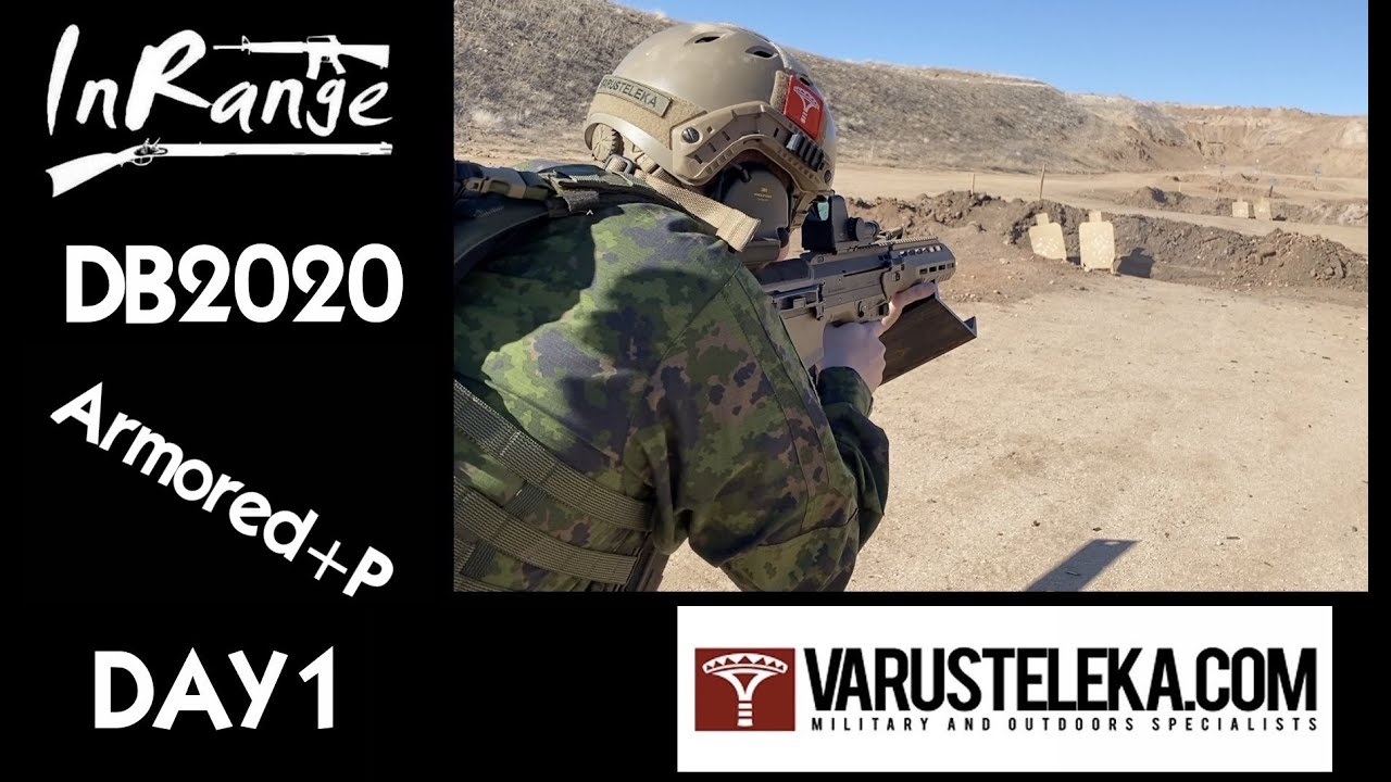Desert Brutality 2020 - Armored+P Day 1 w/Varusteleka