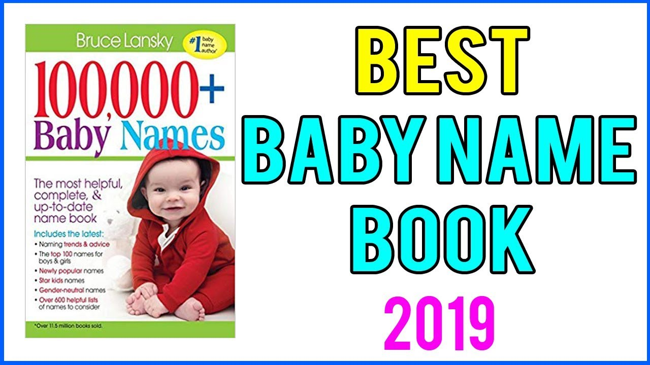 Best Baby Name Book 2019 ! Top 5 Baby Name Book