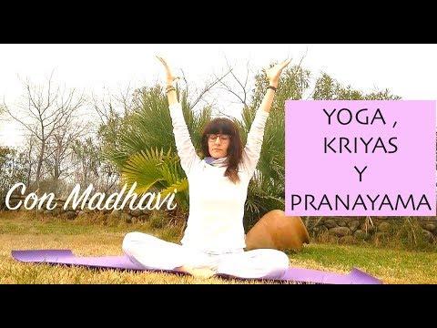 yoga: calentamiento y pranayama