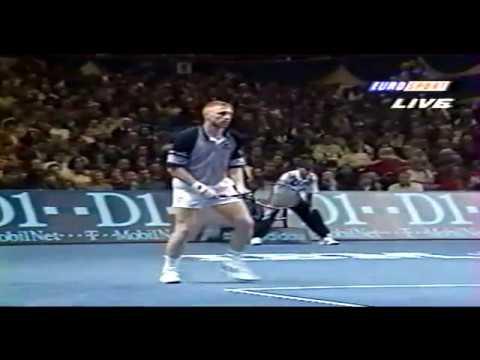 Boris Becker vs Michael Chang Final ATP Tour 1995 Part.2