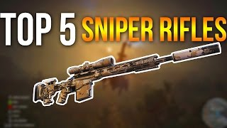 Top 5 Sniper Rifles - Ghost Recon Wildlands