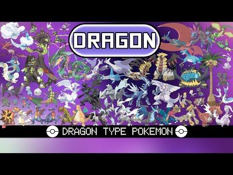 All Dragon Type Pokémon