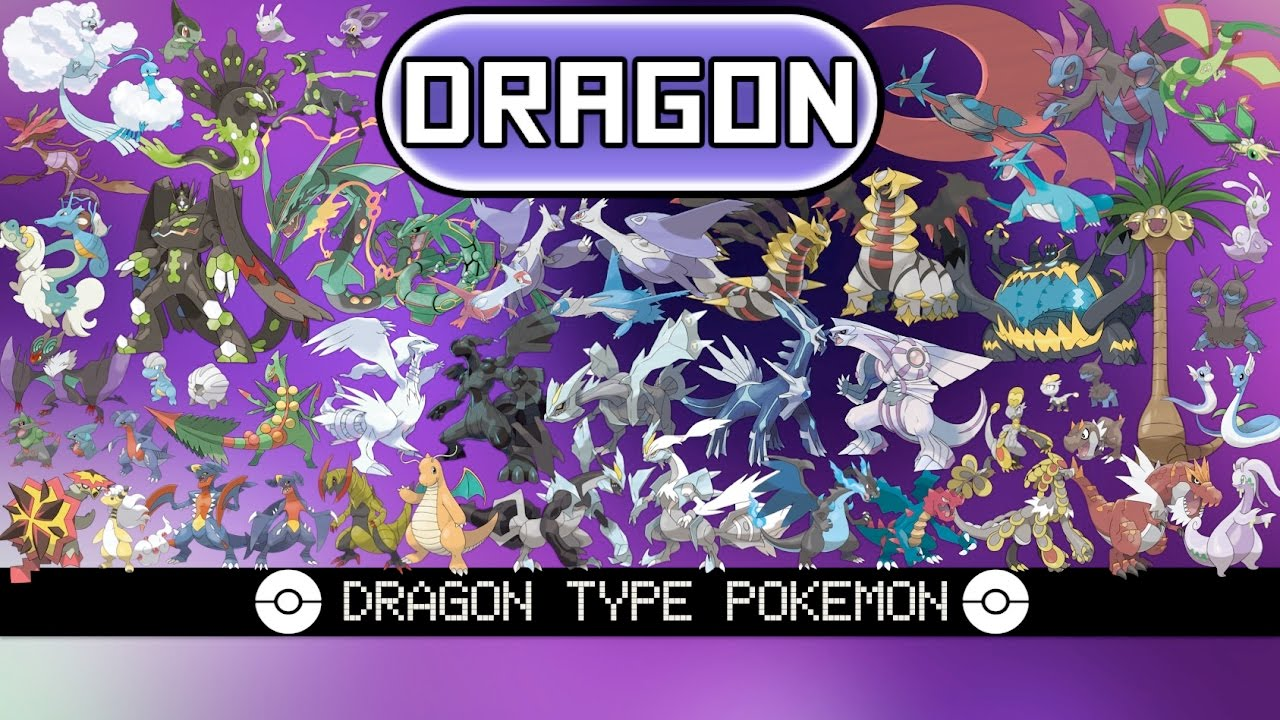 All Dragon Type Pokémon
