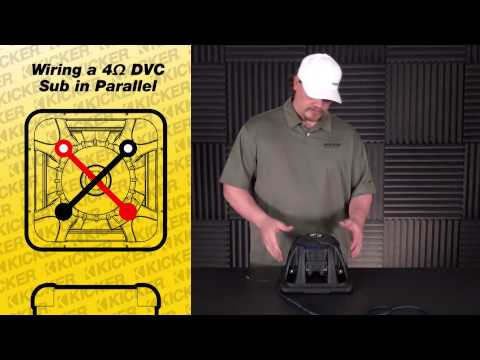 Subwoofer Wiring: One 4 ohm Dual Voice Coil Sub in Parallel on