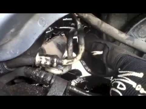 2001 ford taurus radiator hose diagram holden vz sv6 wiring how to replace or repair the transmission cooler line on a - youtube