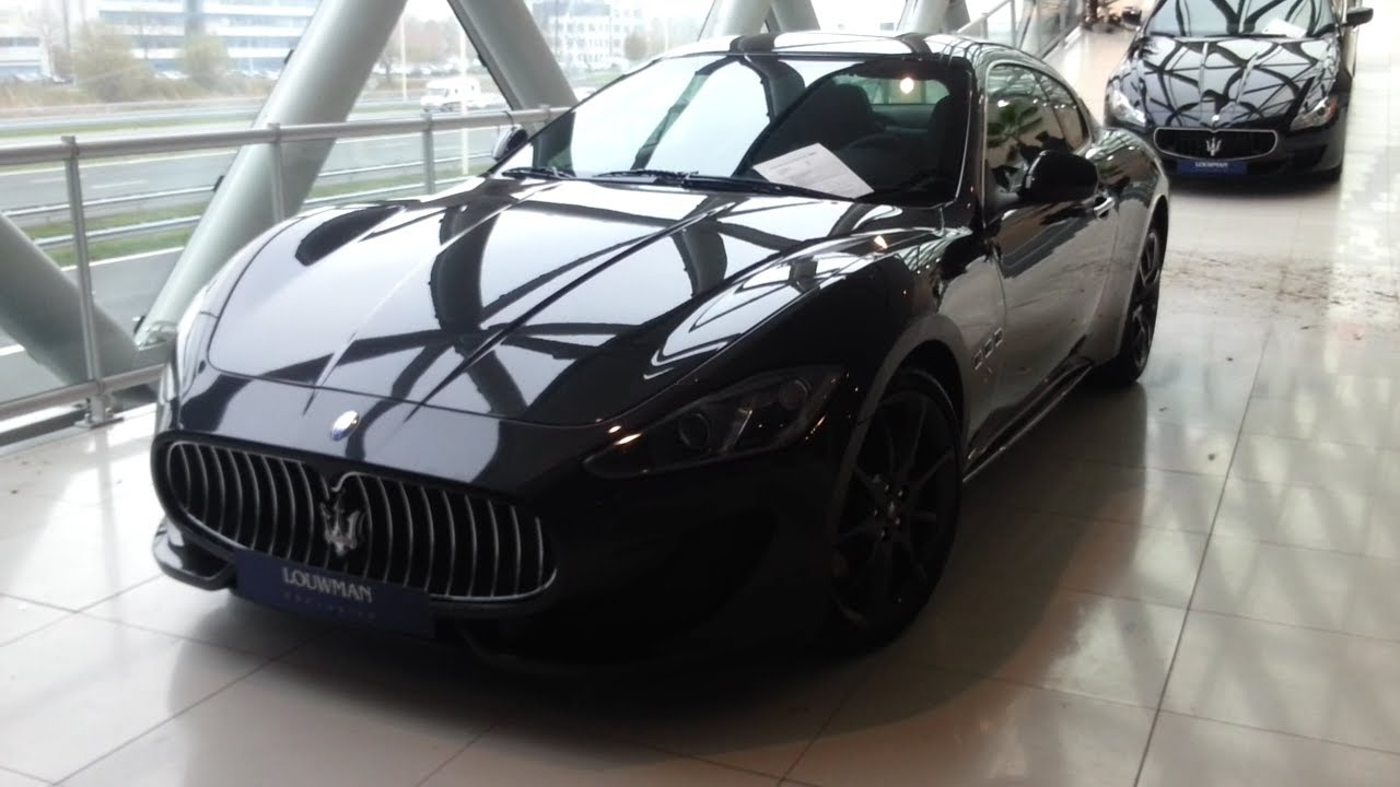 Maserati Granturismo Sport 2015 In depth review Interior Exterior ...